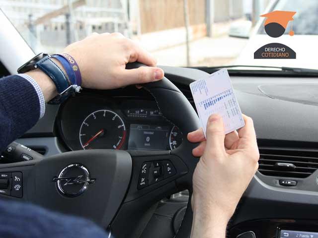 puntos del permiso de conducir